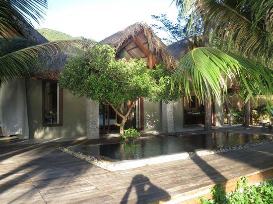 An Lam Ninh Van Bay Villas:                   Lagoon Villa #22