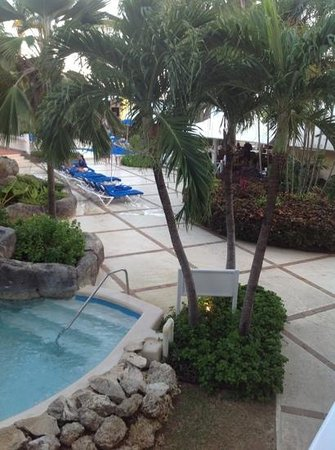 Turtle Beach by Elegant Hotels:                   view from room 224