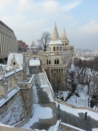 Budapest Best Apartments:                   Buda castle.