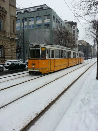 Budapest Best Apartments:                   Tram.