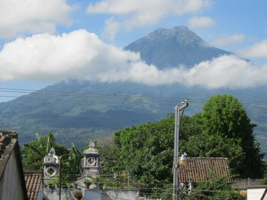 Hostal Antigua:                                     view from roofdeck