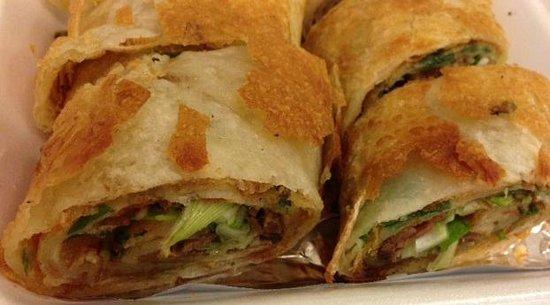 New Golden City:                   beef roll: a close-up