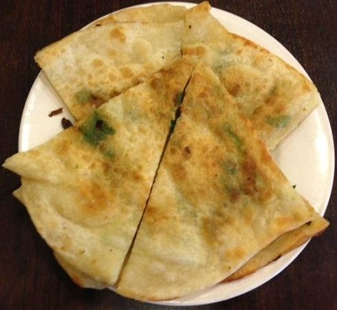 New Golden City:                   Green onion pancake