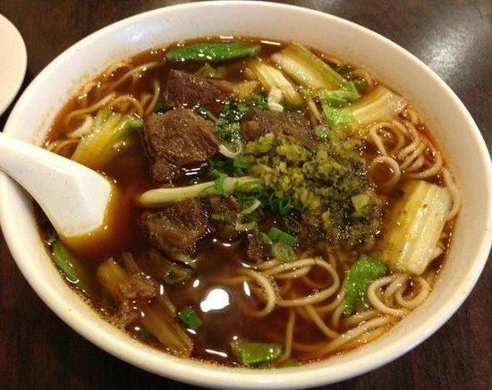 New Golden City:                   Beef soup noodle