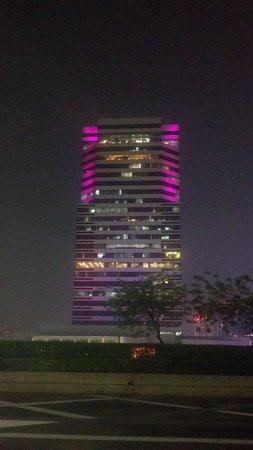 Pathumwan Princess Hotel:                   looking out over Bangkok