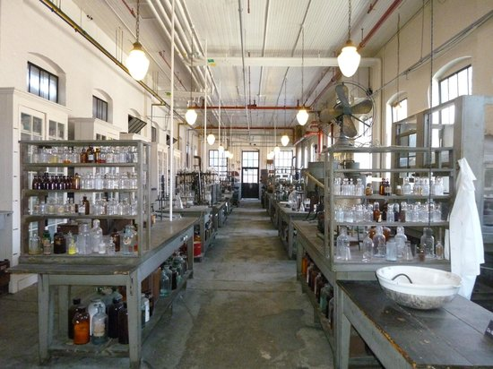 Thomas Edison National Historical Park :                   Edison's Chemical Laboratory