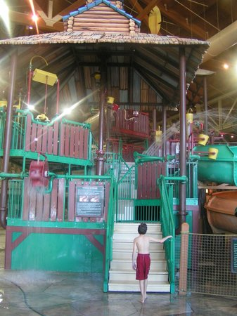 Great Wolf Lodge Water Park:                   Water park feature.