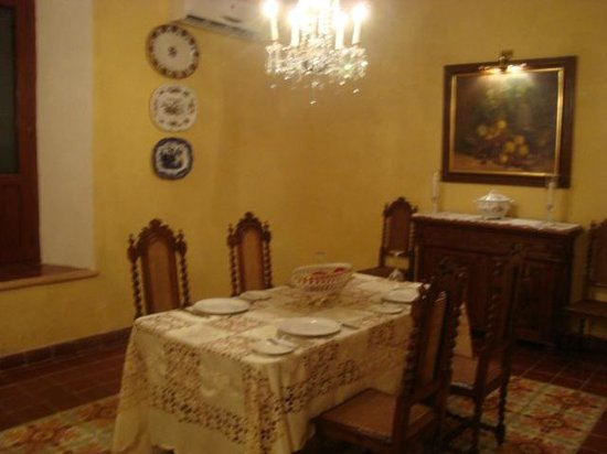 Casa Don Gustavo Hotel Boutique:                   Dining