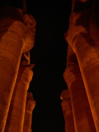 Luxor Sound and Light Show: Karnak sound and light, hypostyle hall