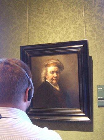 Mauritshuis :                   Rembrandts self portrait