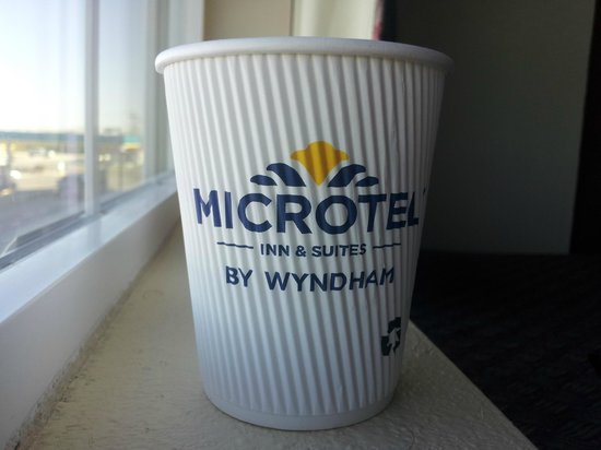 Microtel Inn & Suites by Wyndham Aransas Pass/Corpus Chris:                   Kaffeebecher :-)