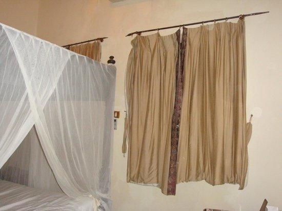 Al Johari:                   curtains in my room