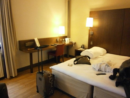 Hilton Brussels City: double room