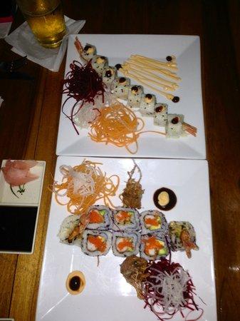 Sushi Q :                   Sushi Rolls