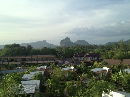 Deevana Plaza Krabi Aonang:                   view from my room!