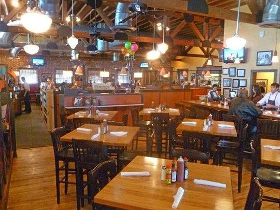 Jim 'N Nick's Bar-B-Q:                   main dining room (bar at right)