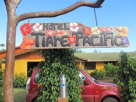 Hotel Tiare Pacific: Entrada del Hotel