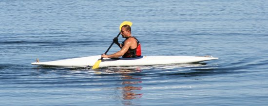 Inn-Nature Retreat & Spa: Kayaking at nearby Sargent Bay