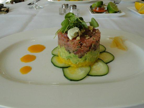 Glenmere Mansion:                   ahi tuna tartare
