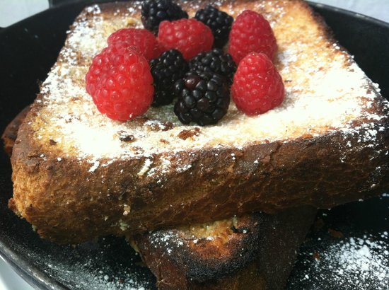 The Betsy - South Beach:                   Best thick French Toast on an iron skillet at The Betsy