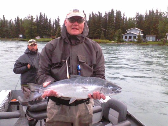ACE Fishing Adventures :                   Fulfilling A Dream:  Silver Salmon on the Fly