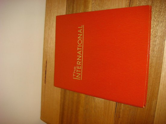 Comfort Inn The International: An information book in the room