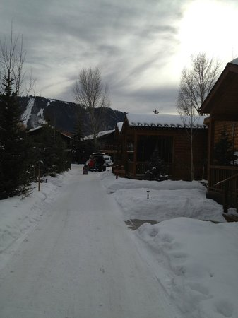 Rustic Inn Creekside Resort and Spa at Jackson Hole :                   Jan 2013