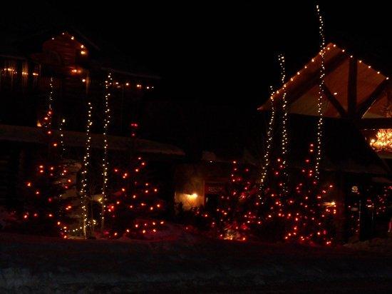 ذا روستيك إن:                   Beautiful lights                 
