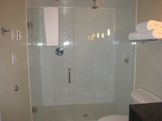 Opus Hotel: Very large shower