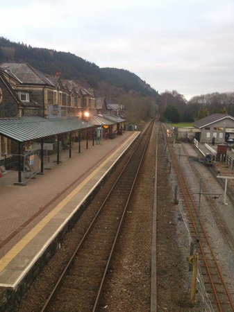 ‪‪Maes-y-Garth‬: Betws y Coed train station‬