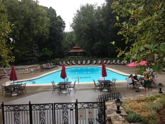 The Elms Hotel and Spa:                   The pool at the Elms