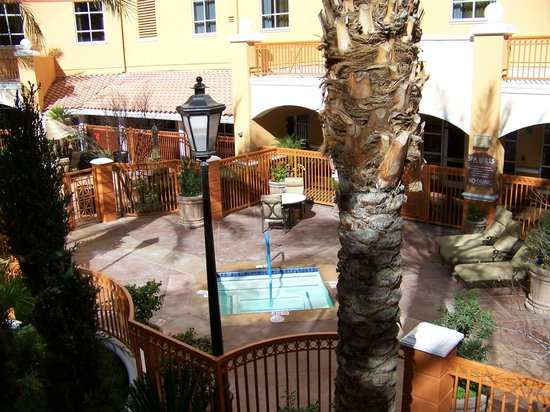 Wyndham Grand Desert:                   1 of 4 outdoor spas