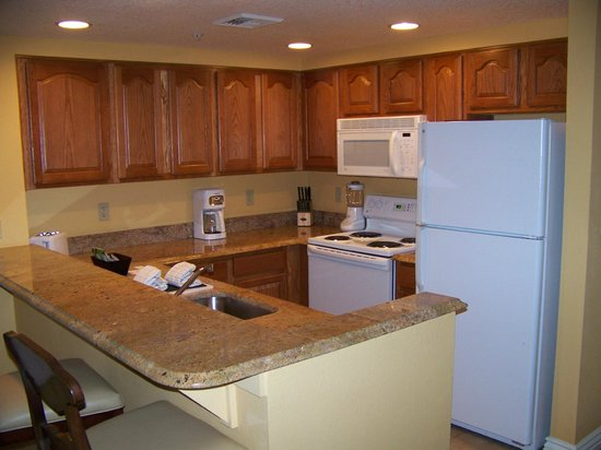 Wyndham Grand Desert :                   1 br deluxe kitchen