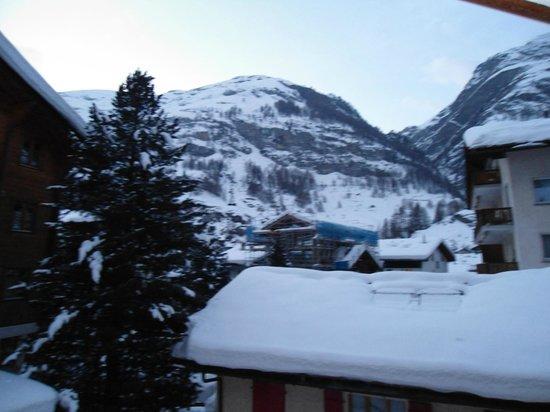Hotel Albatros :                   Vista da minha varanda.