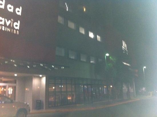 Hotel Ciudad de David:                   entrada