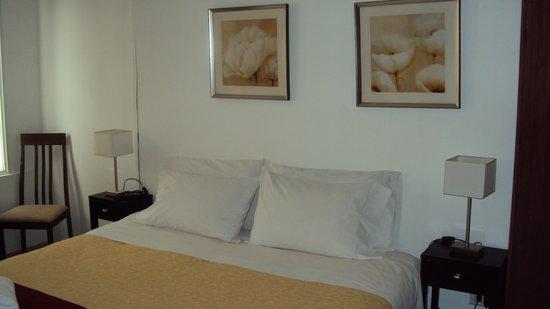 Abadia Hotel Apart:                   Esta es nuestra habitación Nº 4 muy bonita, arreglada con gusto