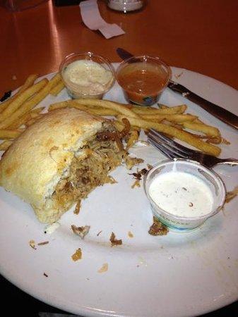 One World Cafe :                   Cuban sandwich delish!