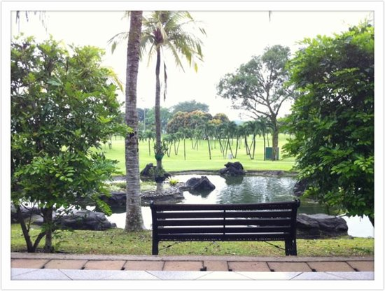 Orchid Country Club: overlooking pond