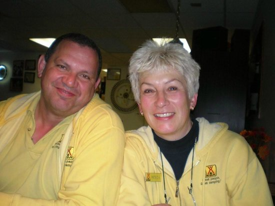 South Bend/Elkhart North KOA: Thomas & Patricia