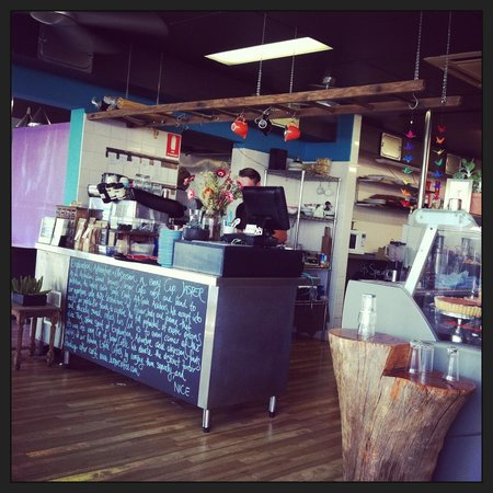 Nice Cafe:                   Interior