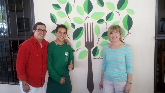 Healthy Restaurant & Wine Bar :                   Owner, Johnathan and Sue