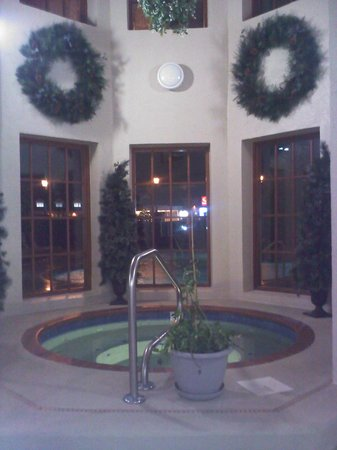 The Inn at Christmas Place:                   Hot tub