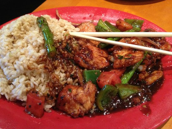 Pei wei serves plentiful portions their edamame appetizer for Asian cuisine norman