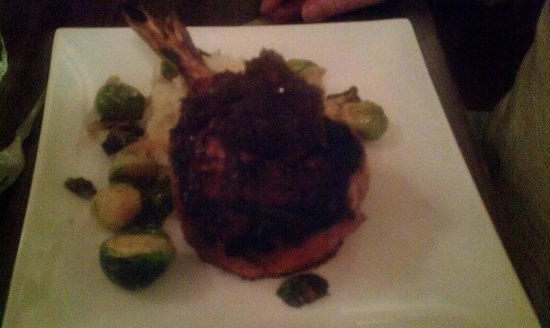 Crooked Spoon Cafe :                   Pork Chop