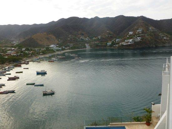 Hotel Bahia Taganga:                   Vista Diurna desde la habitacion