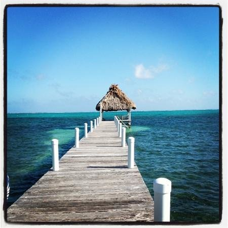 Pelican Reef Villas Resort:                   resort pier