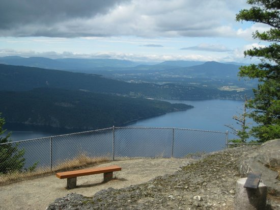 Mount Maxwell Provincial Park:                   You can see for miles from this viewpoint.