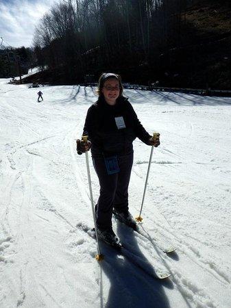 Wolf Ridge Ski Resort: broadway trail