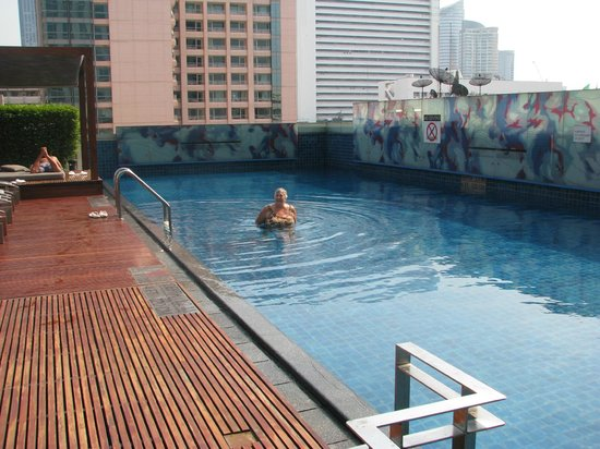 Le Meridien Bangkok: The pool