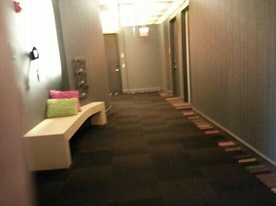 Aloft Lexington:                   hallway